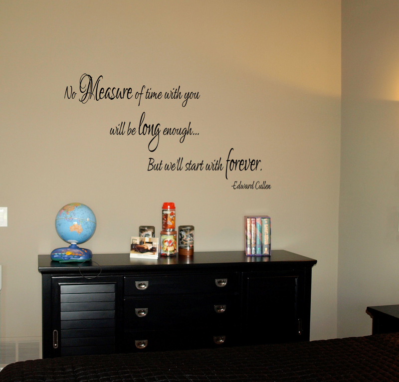 No Measure Of Time With You II Wall Decal