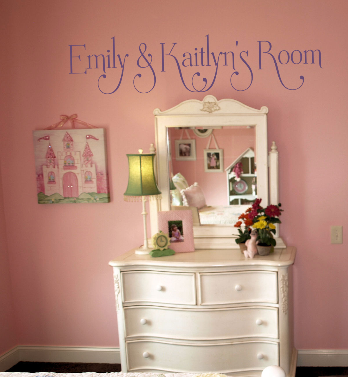 Swash Names Personalized Wall Decal