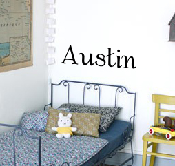 Alb Name Wall Decal