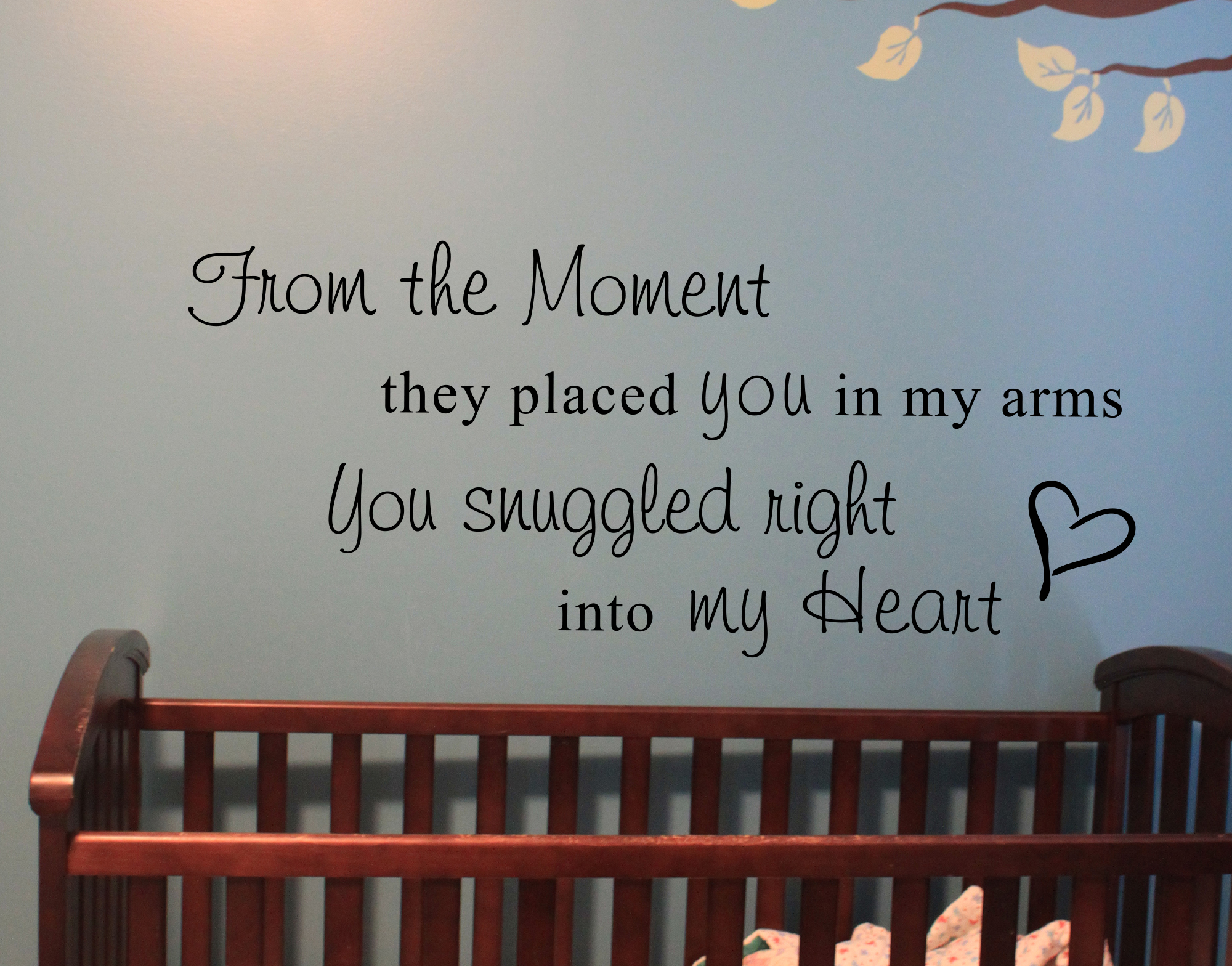 Into My Heart Wall Decal