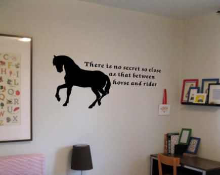 Horse And Rider Wall Decals