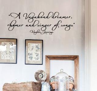 Waylon Jennings Quote Wall Decal