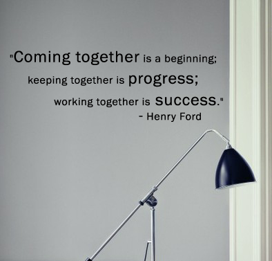 Henry Ford Quote Wall Decal