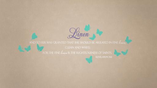 Linen Decal