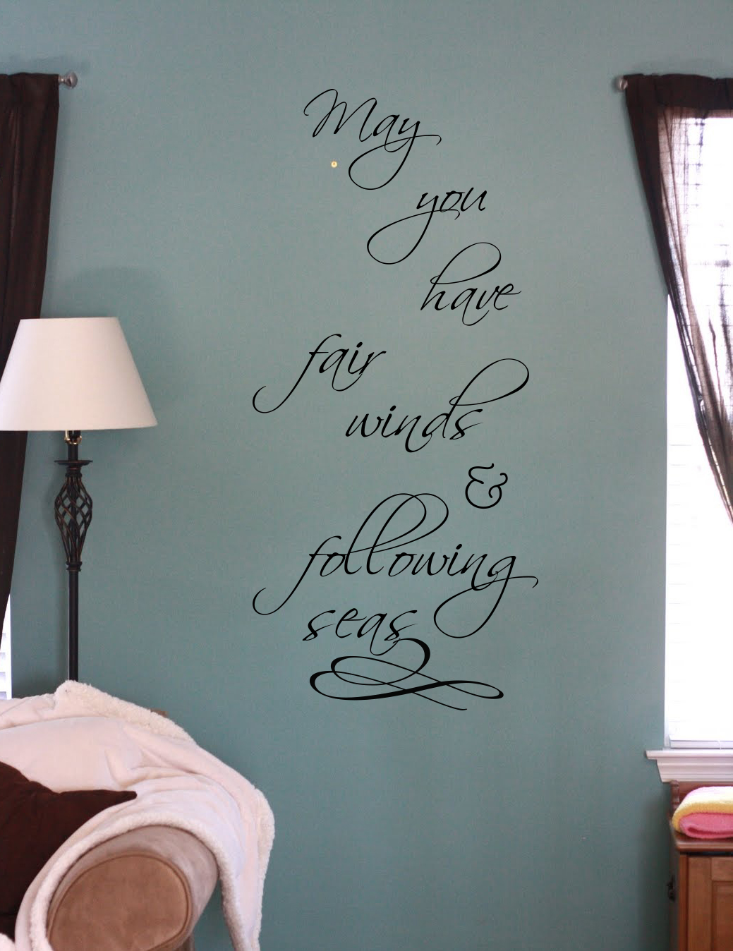 Fair Winds Wall Decal