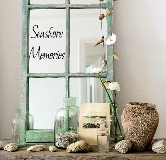 Seashore Memories Wall Decal