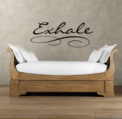 Exhale Wall Decal