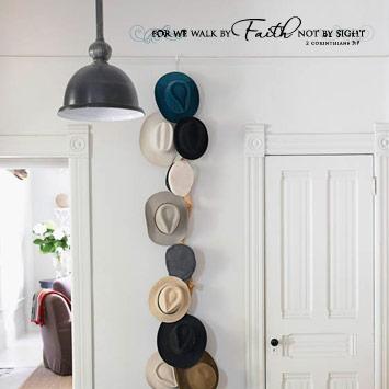 Walk By Faith Wall Decal