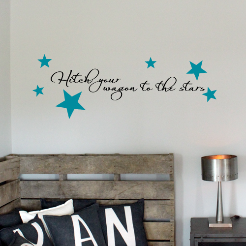 Hitch Your Wagon Wall Decal