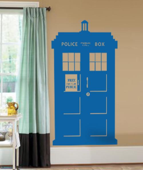 Police Box Wall Decal