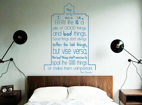 Good Things Wall Decal