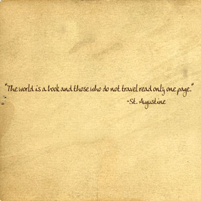 World Is A Book St. Augustine Wall Decals