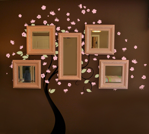 Blossom Tree- Extra Leaves and/or Blossoms Wall Decal
