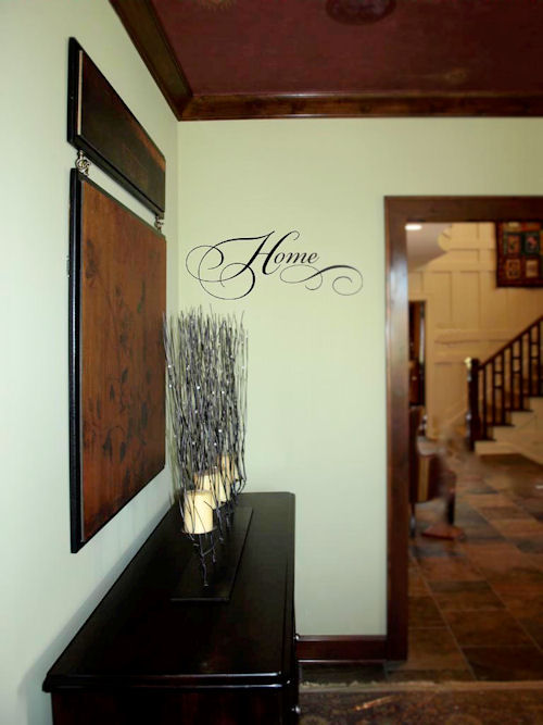 Simply Words Home Wall Decal