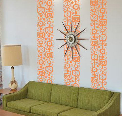 Retro Wall Runner Decal