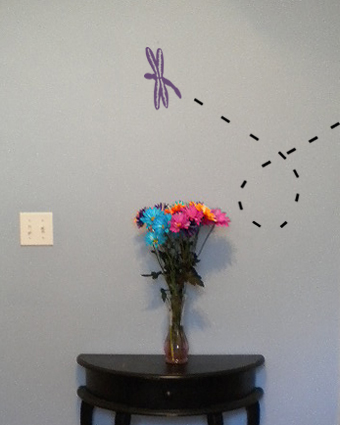Bugs Dragonfly Wall Decal