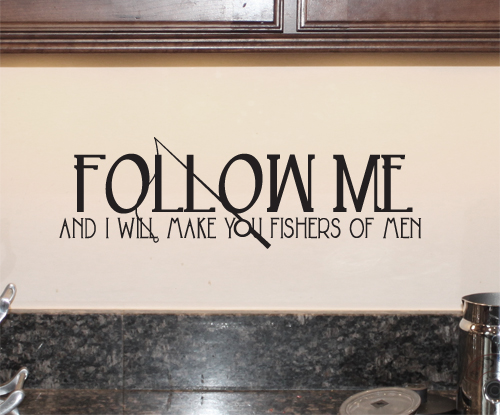Fishers of Men Wall Decal