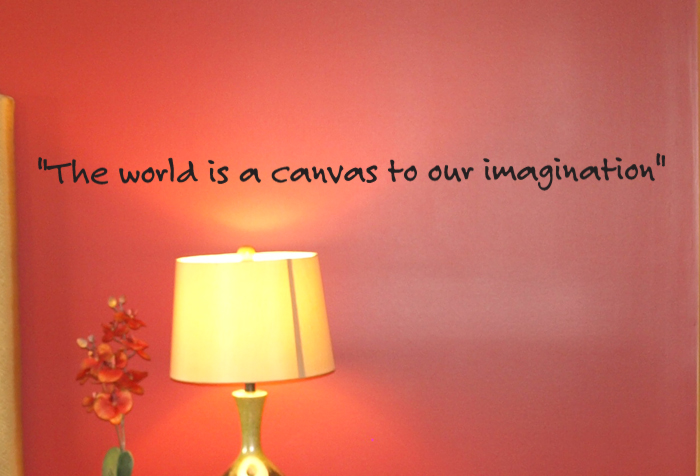 World Is A Canvas Wall Decals