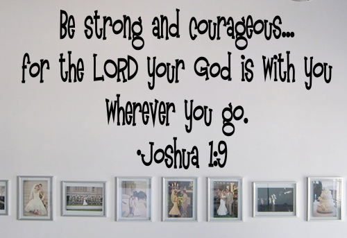 Your God Is With You Wall Decal