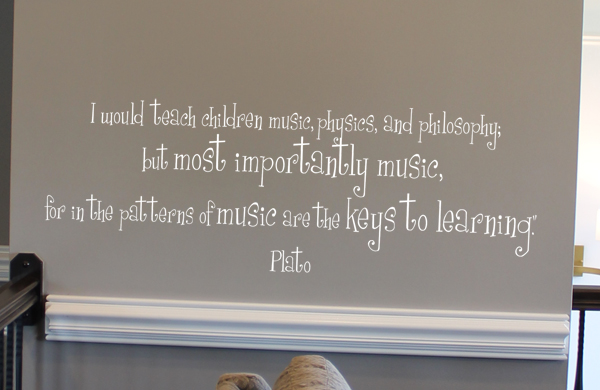 Music Keys To Learning Wall Decal