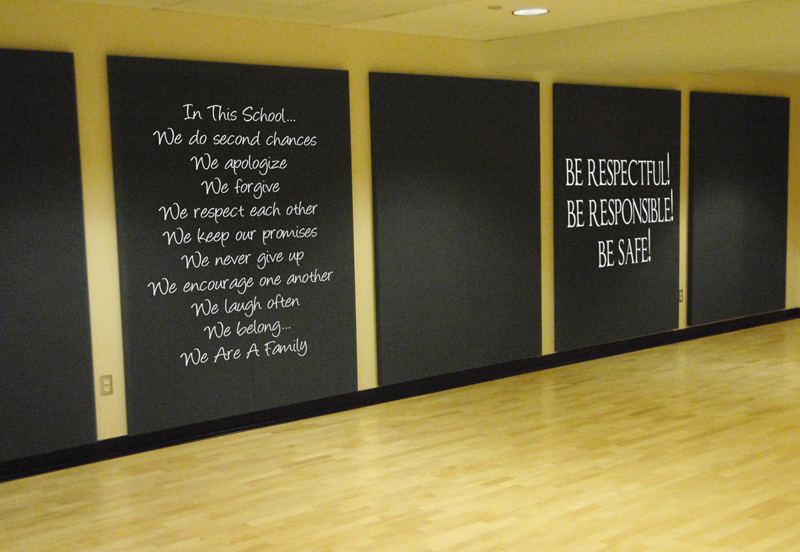 School Motto | Wall Decals