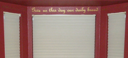 Daily Bread Wall Decal