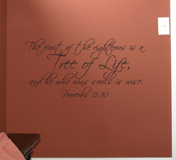 The Fruit Tree of Life Wall Decal
