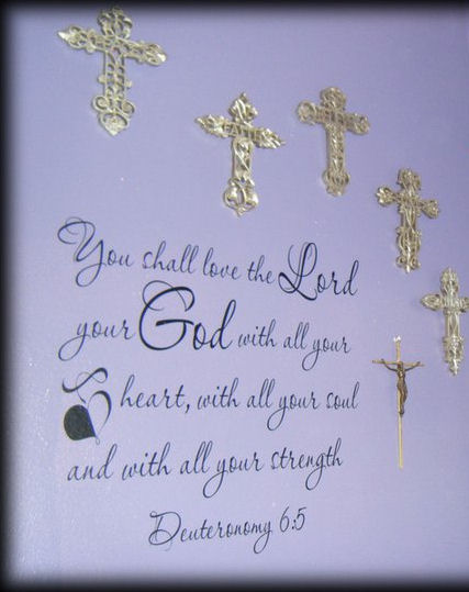 Love the Lord Wall Decal