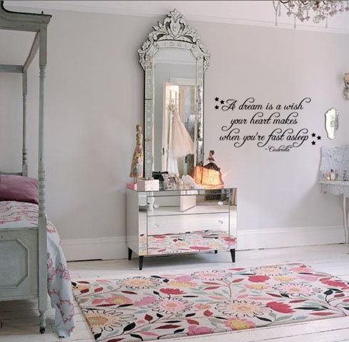 A Dream Is a Wish | Wall Decal