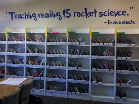 Teaching Reading Rocket Science Wall Decals