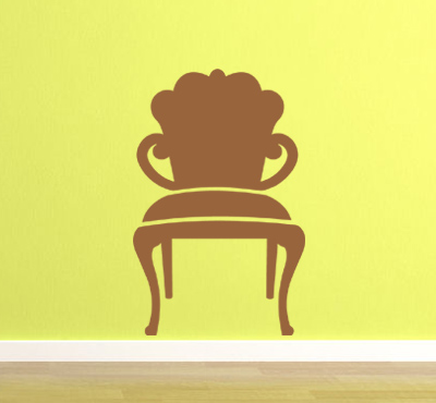 Funky Chair Wall Decal