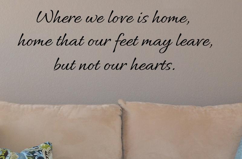 Where We Love Wall Decal