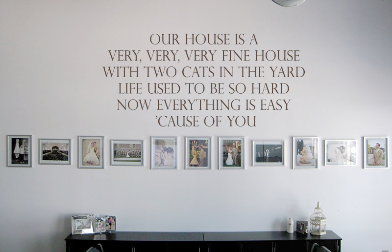 Very Fine House Wall Decals