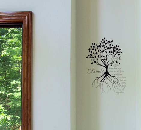 Family Tree Large Wall Decal