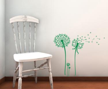 Dandelion Set II Wall Decal