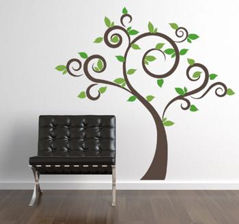 Season Trees Wall Decal