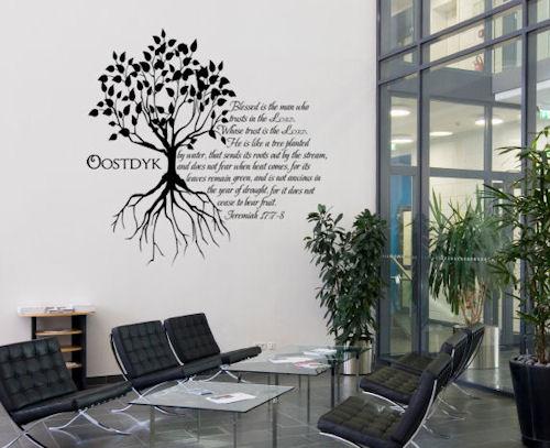 Jeremiah Tree Wall Decal