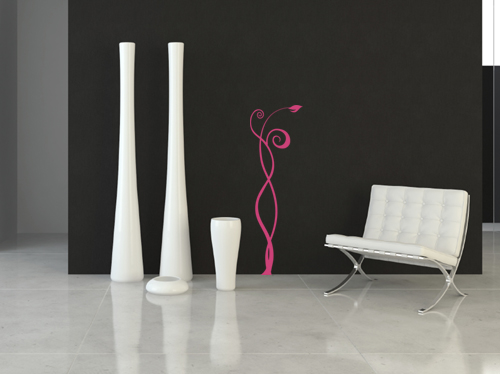 Funky Stems Wall Decal