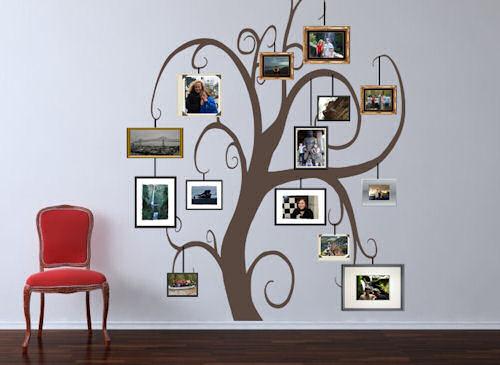 Family Photo Tree Giant Tree Wall Decal