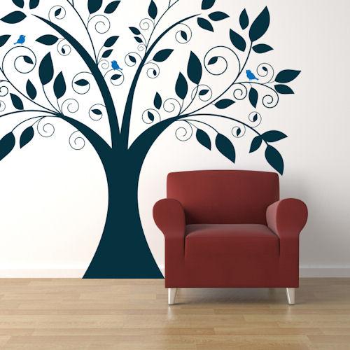 Cute Tree Wall Decal