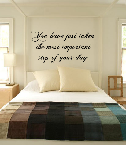 Most Important Step Wall Decal