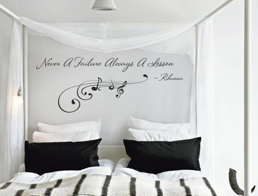 Never Failure Always Lesson Wall Decal