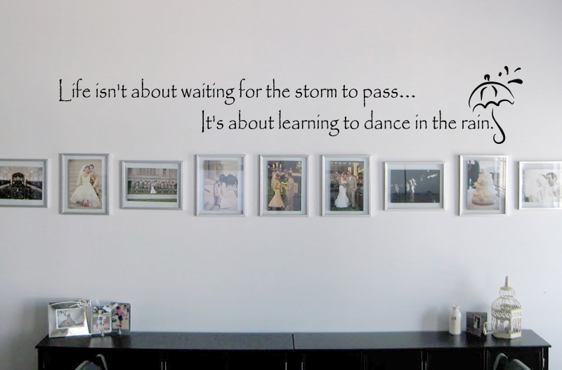 Waiting For The Storm To Pass Wall Decal