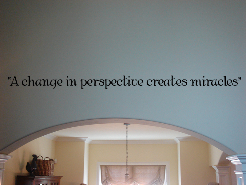 A Change In Perspective Wall Decals