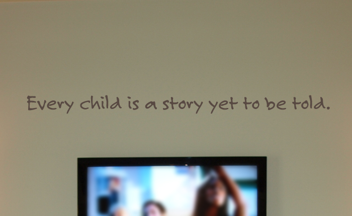 Every Child Is A Story Wall Decals