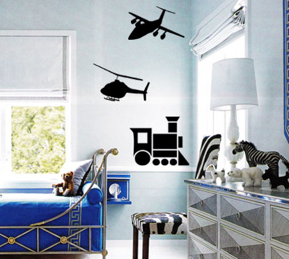 Transportation Pack Wall Decals