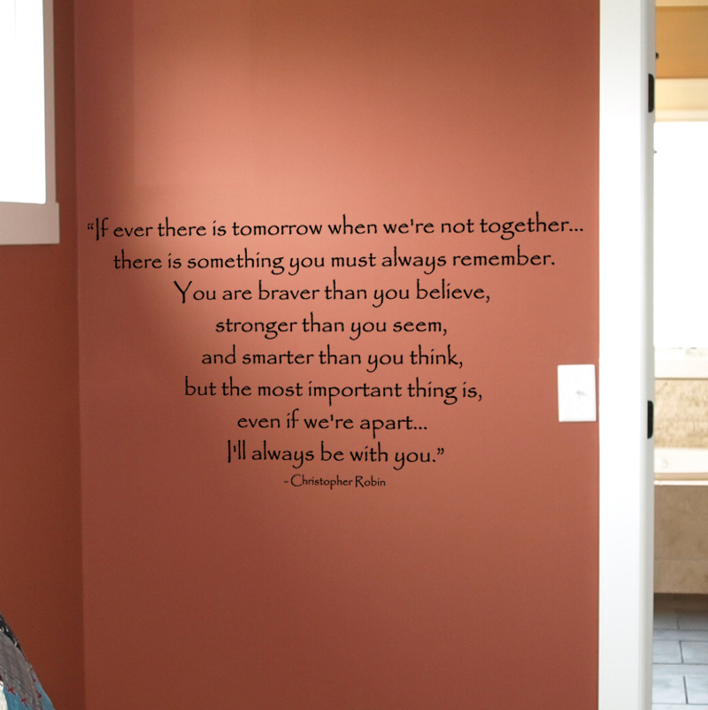 Christopher Robin Wall Decals