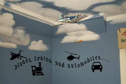 Planes, Trains, & Automobiles! Wall Decals