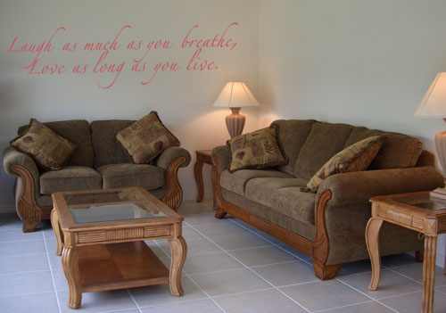 Love as Long as You Live | Wall Decal