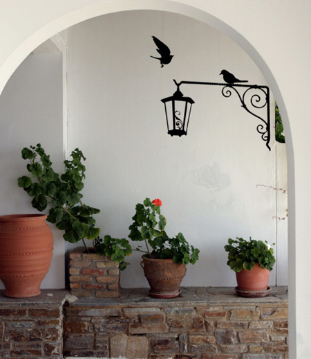 Lantern Wall Decal
